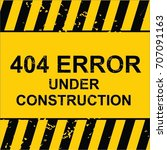 website under construction  ... | Shutterstock .eps vector #707091163