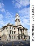 guildhall building in kingston... | Shutterstock . vector #707115637