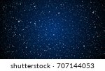 star night sky. stars  sky ... | Shutterstock .eps vector #707144053