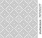 ethnic seamless surface pattern ... | Shutterstock .eps vector #707152177