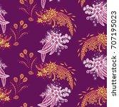 modern zendoodle rapport....   Shutterstock .eps vector #707195023