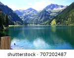 view to the vilsalpsee in the... | Shutterstock . vector #707202487