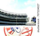 bronx  new york   aug 6 2011 ... | Shutterstock . vector #707224027