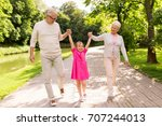 family  generation and people... | Shutterstock . vector #707244013