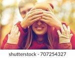 love  relationships  season and ... | Shutterstock . vector #707254327