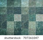 mosaic pattern on a tile ...   Shutterstock . vector #707261047