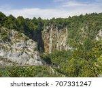 plitvice   croatia   | Shutterstock . vector #707331247