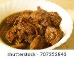 adobo humba filipino recipe... | Shutterstock . vector #707353843
