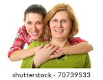 happy and smiling daughter and... | Shutterstock . vector #70739533