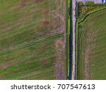 above the field | Shutterstock . vector #707547613