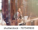 modern user. professional... | Shutterstock . vector #707549833