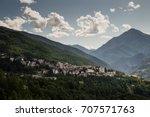 sauze d'oulx landscape summer 1   Shutterstock . vector #707571763