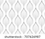 flower pattern vector ... | Shutterstock .eps vector #707626987