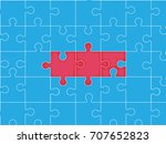 vector abstract colorful...   Shutterstock .eps vector #707652823
