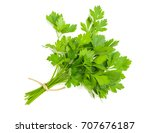 Parsley Bunch Tied With Cord...