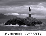Red And White Lighthouse In Th...