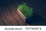 3d rendering picture of table... | Shutterstock . vector #707785873