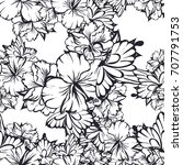 abstract elegance seamless... | Shutterstock .eps vector #707791753