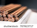 Abstract Background Of Pencils...