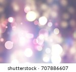 decorative christmas background ... | Shutterstock . vector #707886607