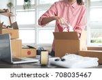 business start up sme concept....   Shutterstock . vector #708035467