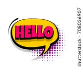 Lettering Hello  Hi  Greeting....