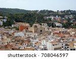 tossa de mar  catalonia  spain | Shutterstock . vector #708046597