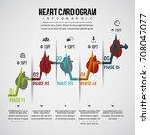 vector illustration of heart... | Shutterstock .eps vector #708047077