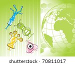 abstract world concept... | Shutterstock .eps vector #70811017