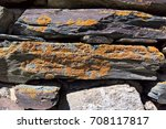 close up of old stone wall | Shutterstock . vector #708117817