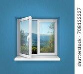 realistic 3d illustration... | Shutterstock . vector #708122227