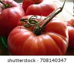 heirloom tomatoes | Shutterstock . vector #708140347