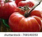 heirloom tomatoes | Shutterstock . vector #708140353