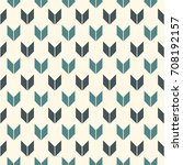 seamless pattern with arrows... | Shutterstock .eps vector #708192157