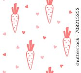 cute seamless kids pattern with ... | Shutterstock .eps vector #708215353