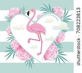 vector illustration pink...   Shutterstock .eps vector #708223813
