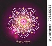 violet color background design... | Shutterstock .eps vector #708230353