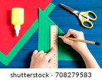 making three dimensional... | Shutterstock . vector #708279583