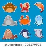 Sticker Design For Sea Animals...