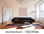 nice apartment refitted  living ... | Shutterstock . vector #70829086
