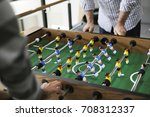 people playing enjoying... | Shutterstock . vector #708312337