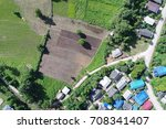 top view or aerial view of... | Shutterstock . vector #708341407