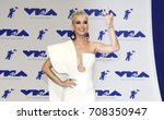 katy perry at the 2017 mtv... | Shutterstock . vector #708350947