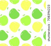 vector seamless pattern with...   Shutterstock .eps vector #708396223