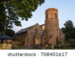 the traditionally built church... | Shutterstock . vector #708401617