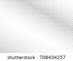 abstract halftone dotted... | Shutterstock .eps vector #708434257