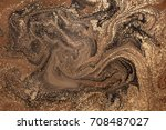 marbled abstract background.... | Shutterstock . vector #708487027