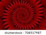 Star Red Abstract Vector...