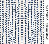 vector tie dye seamless pattern.... | Shutterstock .eps vector #708521443