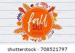 Fall Sale Leaf Pattern...